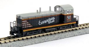Kato (USA) 176-4367 EMD NW2 CB&Q Everywhere West No.9205